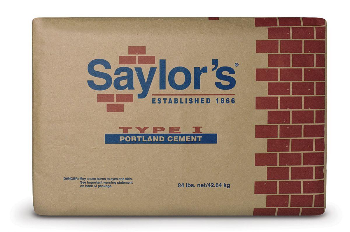 Saylors Portland Cement 94# | Lurvey Landscape Supply